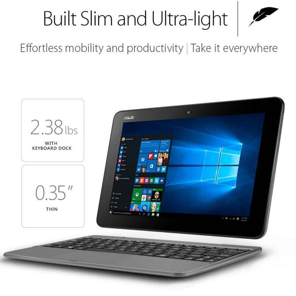 ASUS Transformer Book T101HA-C4-GR 10.1-Inch 2-in-1 Ultraportable