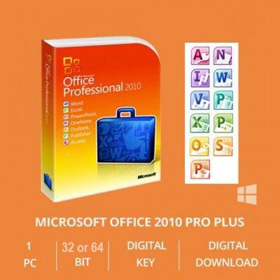 ms office professional plus 2010 32 bit download