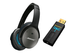 Bose QuietComfort 25 Acoustic Noise Cancelling Headphones DragonFly USB