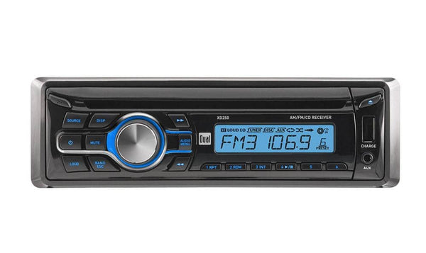 Dual XD250 In-Dash CD/CD-RW Car Stereo Receiver