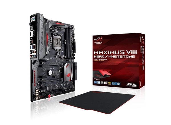 ASUS ROG MAXIMUS VIII HERO/Whetstone LGA1151 DDR4 DP HDMI M.2 U.2 USB 3.1