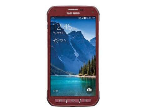 Samsung Galaxy S5 Active G870a 16GB Unlocked - Ruby Red