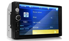 7 Inch Double Din Touch Screen Car Stereo Receiver