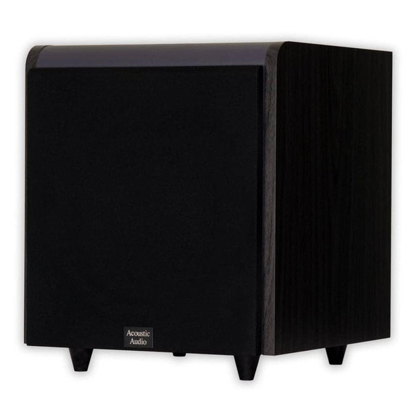 Acoustic Audio HD-SUB10-BLACK 10-Inch HD Series Front Firing Subwoofer (Black)