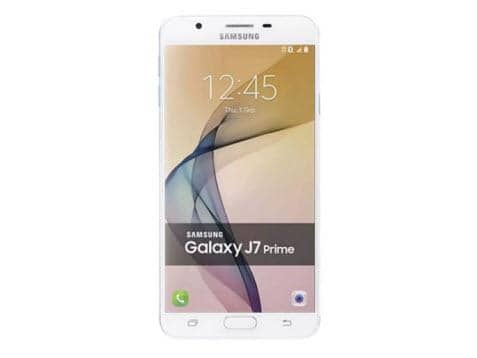 "Samsung Galaxy J7 Prime (32GB) G610F/DS - 5.5"" Dual SIM Unlocked Phone - BLUE SILVER"
