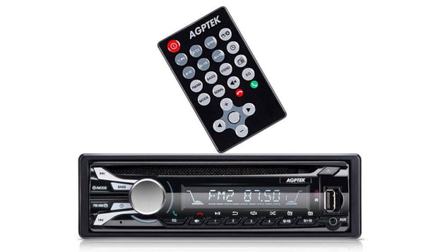 AGPTEK AM/FM CD Receiver with Detachable Faceplate