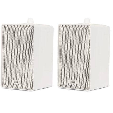 Acoustic Audio 251W Indoor/Outdoor Speakers (White, 2)