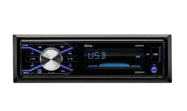 BOSS AUDIO 628UA Single-DIN MECH-LESS Receiver