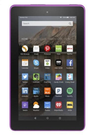 "Amazon - Fire HD8 - 8"" - Tablet - 32GB - Wi-Fi - Magenta"