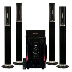 "Acoustic Audio AAT1002 Tower 5.1 Home Theater Speaker System with 8"" Powered Subwoofer"