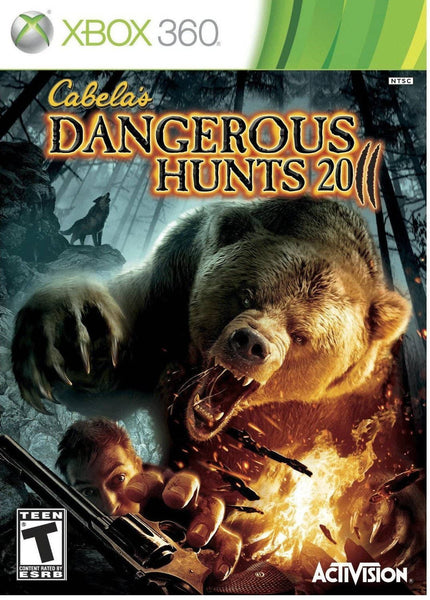 Activision/Blizzard-Cabela's Dangerous Hunts 2011 Software
