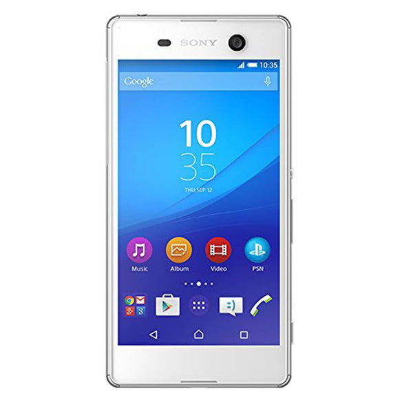Sony Xperia M5 E5653 16GB 5-inch 4G LTE Factory Unlocked (WHITE)