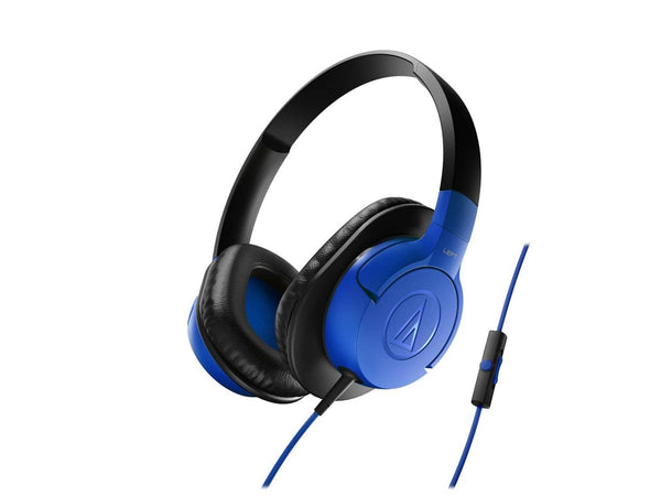 Audio-Technica ATH-AX1iSWH SonicFuel - Blue
