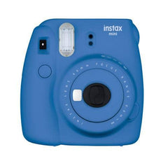 Fujifilm Instax Mini 9 Instant Camera with Instax Groovy Camera Case (Cobalt Blue)
