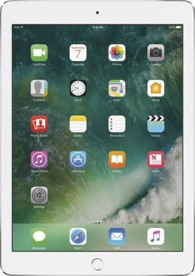 Apple - 12.9- Inch iPad Pro with Wi-Fi + Cellular - 128 GB (AT&T) - Silver