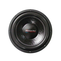 "American Bass XFL1244 12"" Dual 4 Ohm Competition Car Stereo Subwoofer"