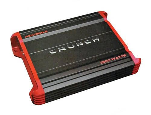 Crunch POWERZONE 2-Channel Class AB Amp (1,300 Watts) PZX1300.2