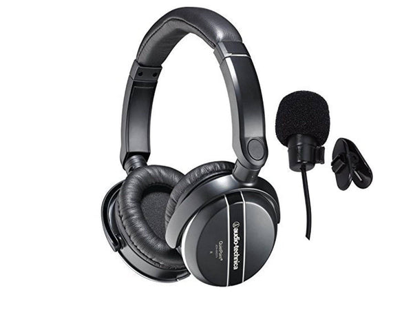 Audio-Technica ATH-ANC27X Quiet Point Active Noise-Cancelling Headphones With in-line Mic