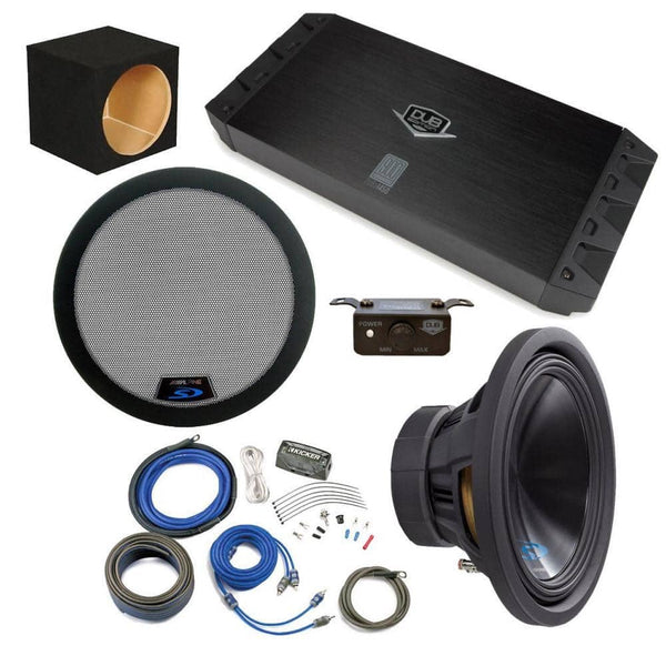 "Alpine Bass Package - Type-S 12"" Subwoofer"