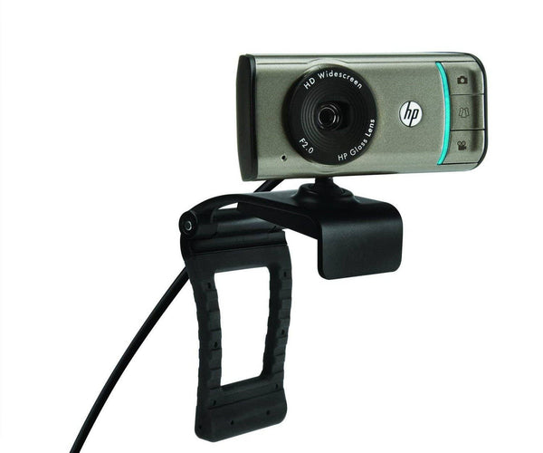 HP Webcam HD-3100-720P Widescreen Webcam with TrueVision