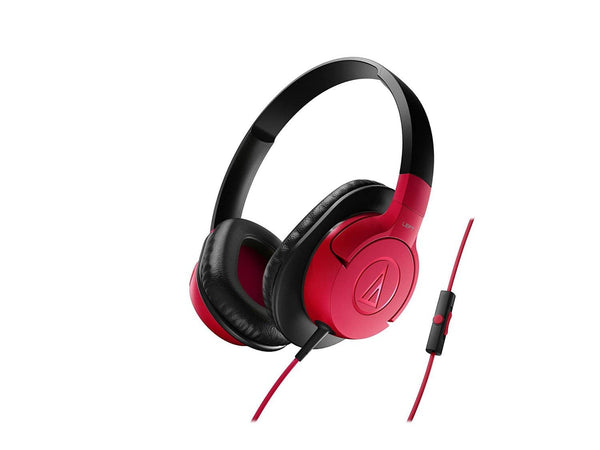 Audio-Technica ATH-AX1iSWH SonicFuel - Red