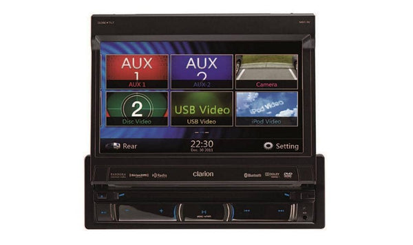 Clarion NZ503 DVD Multimedia Receiver