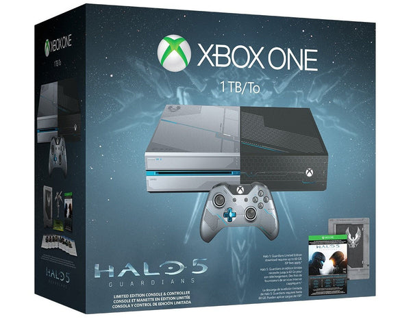 Xbox One 1TB Console -Halo 5: Guardians Bundle