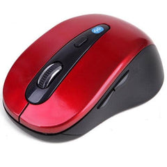HDE Bluetooth Mouse Ergonomic Wireless Optical Mouse - Red