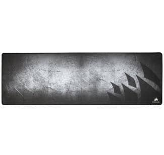 Corsair - MM300 Antifray Cloth Gaming Mouse Mat - Gray/Black