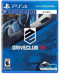 DRIVECLUB™ VR - PlayStation 4
