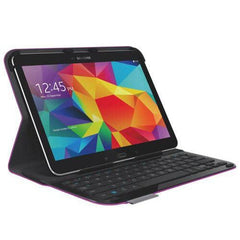 Logitech  Ultrathin Keyboard Folio for Samsung Galaxy Tab 4 10.1 - Purple
