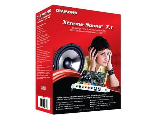 Diamond XtremeSound PCI 7.1 Channels 16 bit Sound Card