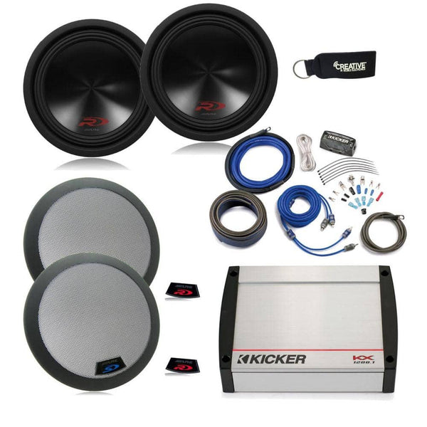 Alpine 12 Inch Type R Bundle