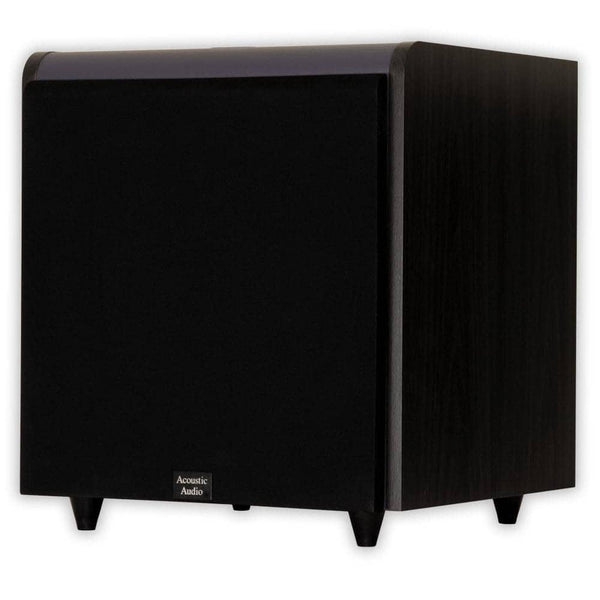 Acoustic Audio HD-SUB12-BLACK 12-Inch HD Series Front Firing Subwoofer (Black)