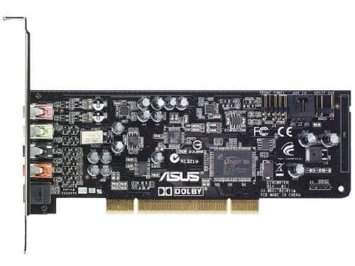 ASUS XONAR DG Headphone Amp & PCI 5.1 Audio Card