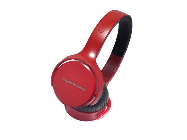 Audio Technica Sonic Fuel ATHOX5BK On-Ear Headphones - Red