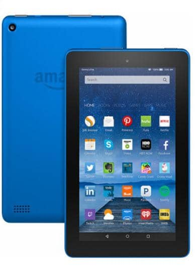 "Amazon - Fire - 7"" - Tablet - 16GB - Blue"