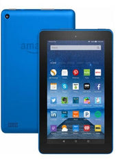 "Amazon - Fire HD8 - 8"" - Tablet - 16GB - Wi-Fi - Blue"