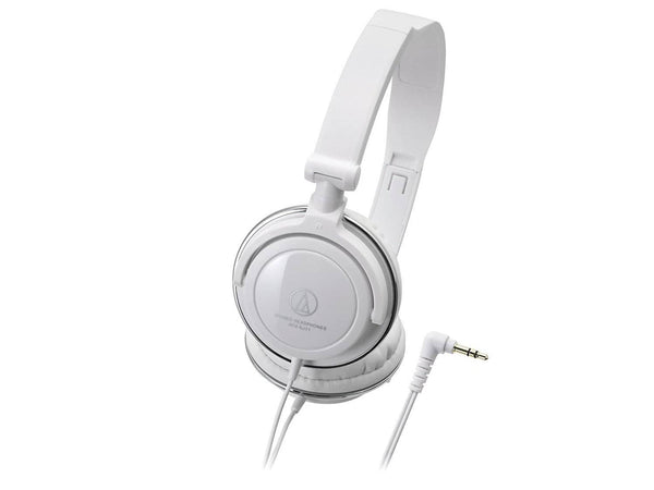 Audio Technica ATH-SJ11 Audio Headphones - White