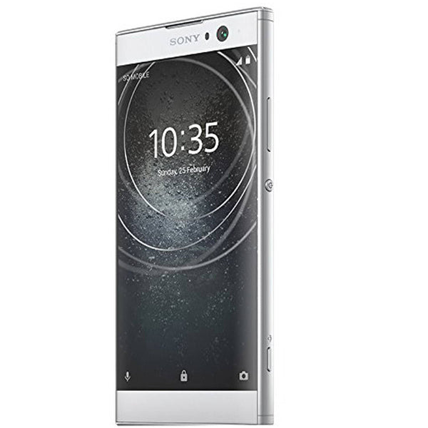 "Sony Xperia XA2 Factory Unlocked Phone - 5.2"" Screen - 32GB - Silver (U.S. Warranty)"