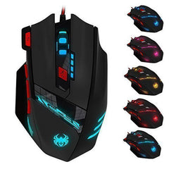 Zelotes T90 Professional High Precision USB Wired Gaming Mouse