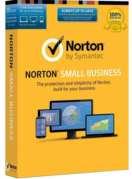Norton Small Business - 10 Device Key Card