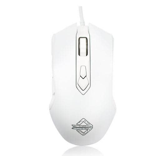 Ajazz Firstblood Watcher RGB Backlit USB Gaming Mouse - White