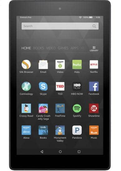 "Amazon - Fire HD8 - 8"" - Tablet - 16GB - Wi-Fi - Black"