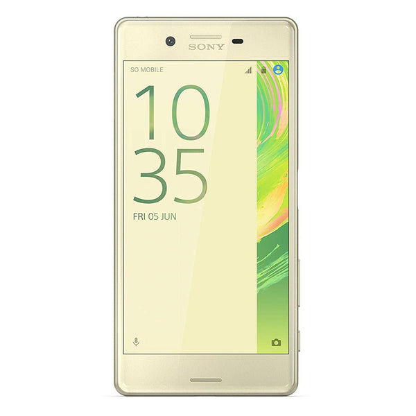 Sony Xperia X unlocked smartphone,32GB Lime Gold