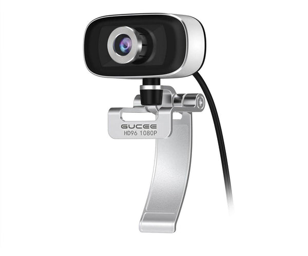 GUCEE HD96 1080P Webcam with Tripod Ready Base (Tripod Not Included)