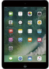 Apple - iPad mini 4 Wi-Fi + Cellular 128GB (Verizon Wireless) - Space Gray