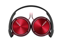 Sony ZX Series MDR-ZX310AP Headband Stereo Headset - Red