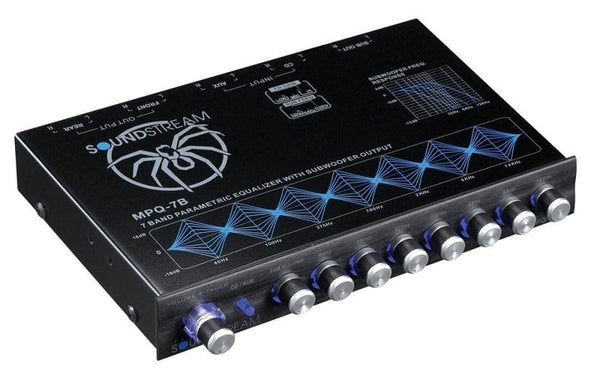 Soundstream MPQ-7B 7-Band 1/2 DIN Equalizer