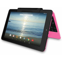 "RCA Viking Pro 10.1"" 2-in-1 Touchscreen Laptop - Pink"